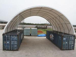 Container Dome Shelter