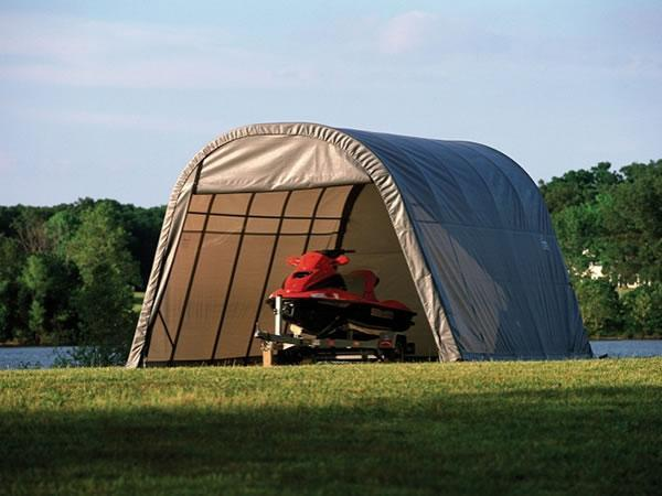 Boat Outdoor Shelters : Fabric boat shelter xinli