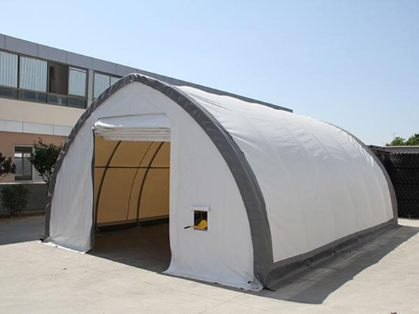 Small storage tent